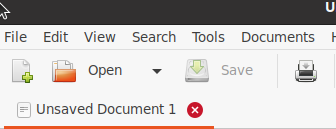 More modern File New Open Save SaveAs CloseWithoutSaving icons thumbnail
